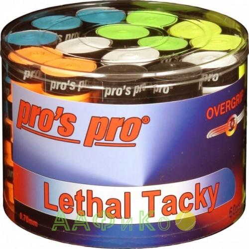 Намотка Pros Pro Lethal Tacky 60шт/уп цветные
