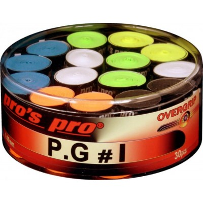 Намотка Pros Pro P.G. 1 30шт/уп цветные
