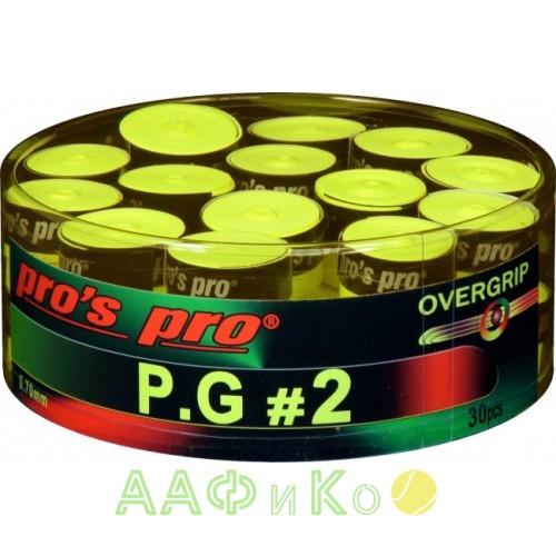 Намотка Pros Pro P.G. 2 30шт/уп lime