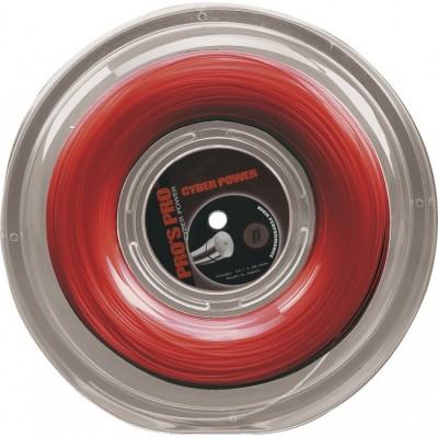 Струны теннисные Pros Pro Cyber Power красные 1.30мм 200м