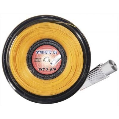 Струны теннисные Pros Pro Synthetic 135 200м золотистые