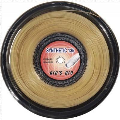 Струны теннисные Pros Pro Synthetic 135 200м natur