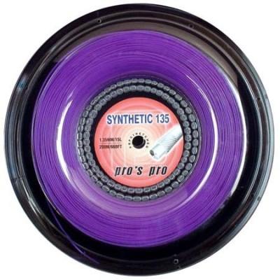 Струны теннисные Pros Pro Synthetic 135 200м фиолетовые