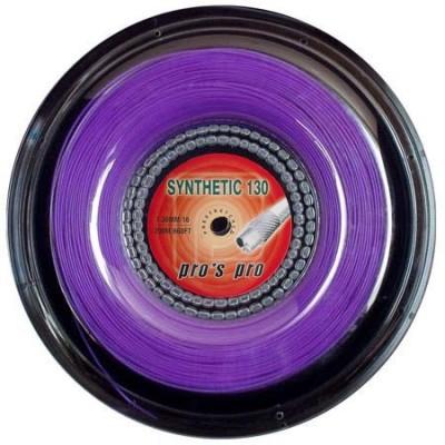 Струны теннисные Pros Pro Synthetic 130 200м  фиолетовые