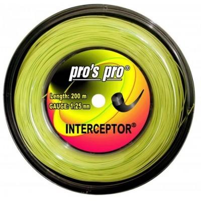 Струны теннисные Pros Pro INTERCEPTOR 1.20мм 200м lime