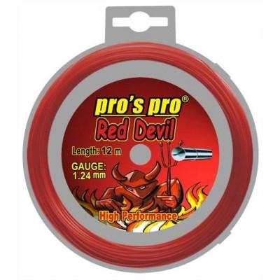 Струны теннисные Pros Pro RED DEVIL 12м 1.24мм