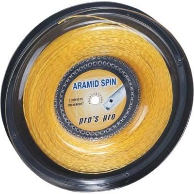 Струны теннисные Pros Pro Aramid Spin 200м 1,30мм