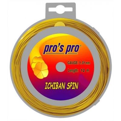 Струны теннисные Pros Pro Ichiban Spin GOLD 12м 1.31мм