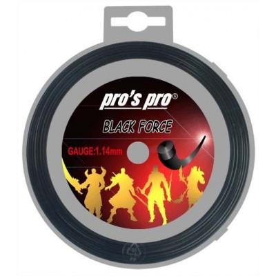 Струны теннисные Pros Pro Black Force 12м  1.14мм