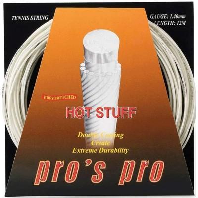Струны теннисные Pros Pro Hot Stuff 12м цвета слоновой кости 1.40мм