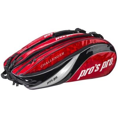 Чехол-сумка для 12  ракеток Pros Pro Challenger красная