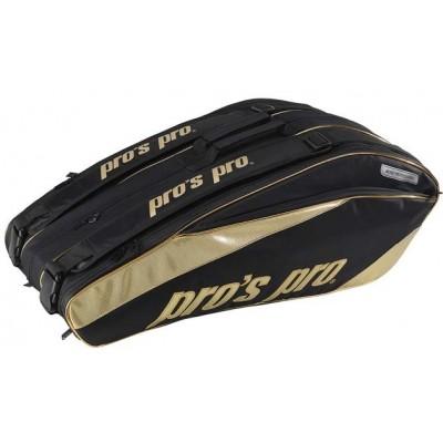 Чехол сумка для теннисных ракеток Pros Pro Gold