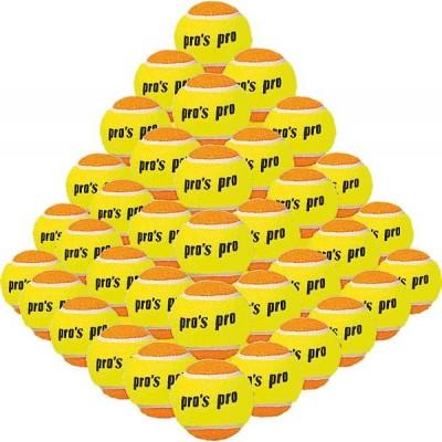 Мячи для пляжного тенниса Pros pro 60шт/уп желто/оранжевые