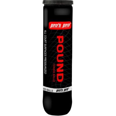Мячи теннисные Pros Pro POUND 4шт/уп