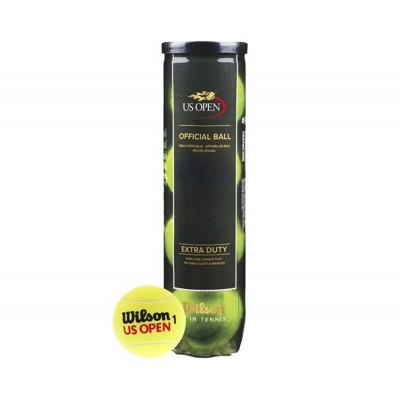 Мячи  теннисные Wilson US Open 4шт/уп  (WRT116200)