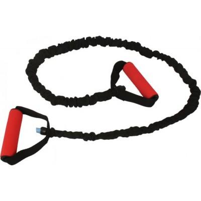 Эспандер резиновый черно красный