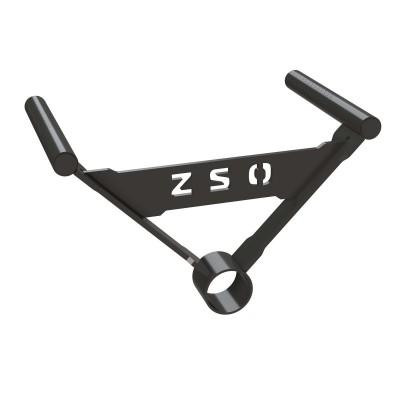Тяга грифа - ручки узкий хват, ZSO 6001