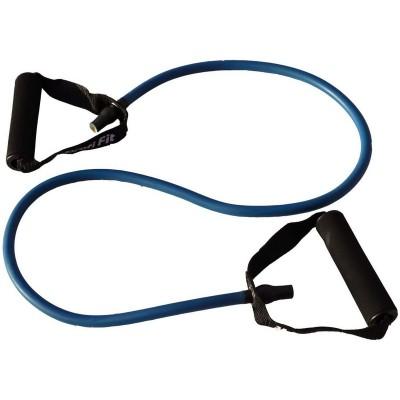 Эспандер трубчатый PROFI-FIT,голубой, сопротивление 10 кг