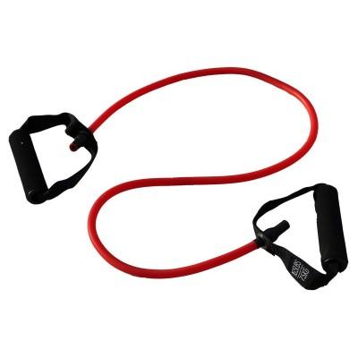 Эспандер трубчатый PROFI-FIT,красный, сопротивление 7,5 кг