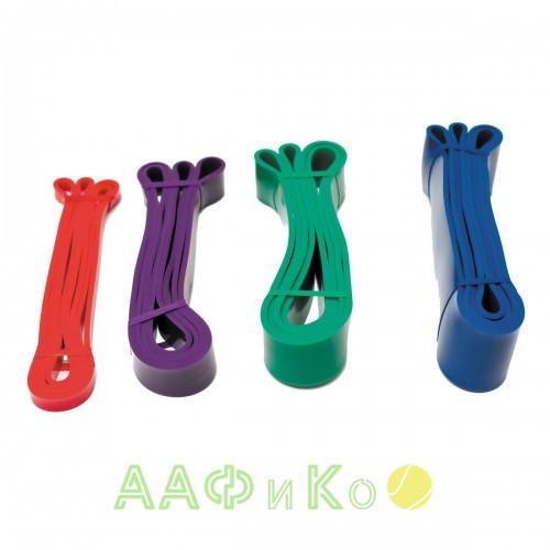 Ленточный эспандер PROFI-FIT среднее сопротивление, фиолетовый