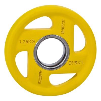 Диск обрезиненный PROFI-FIT цветной FASSION D-51, 1,25 кг