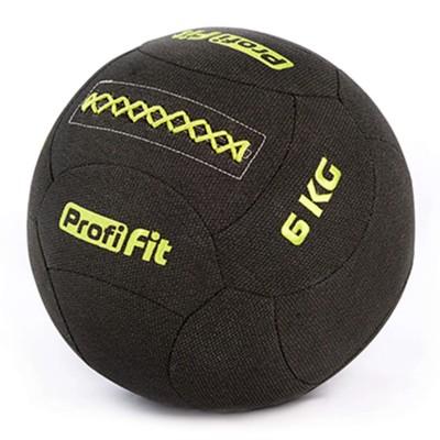 Медицинбол набивной кевларовый PROFI-FIT, (Kevlar Wallball) 6 кг