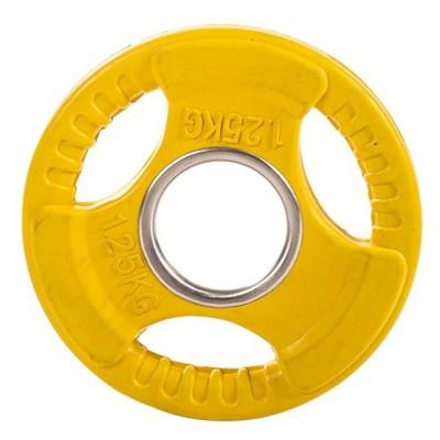 Диск обрезиненный ZSO цветной 3 HANDLE D-51, 1,25 кг