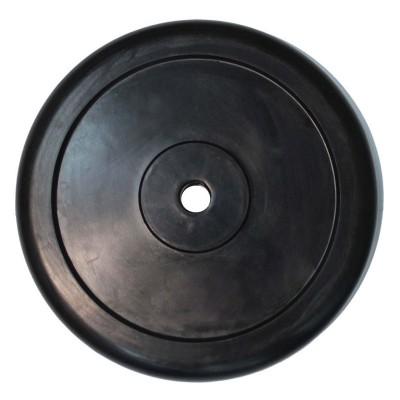 Диск обрезиненный ZSO черный Classic D-26, 10 кг
