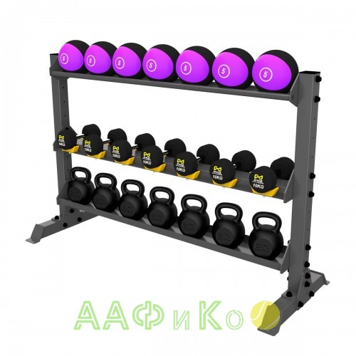 A-0150 Стойка для хранения оборудования (гири-гантели-мячи)