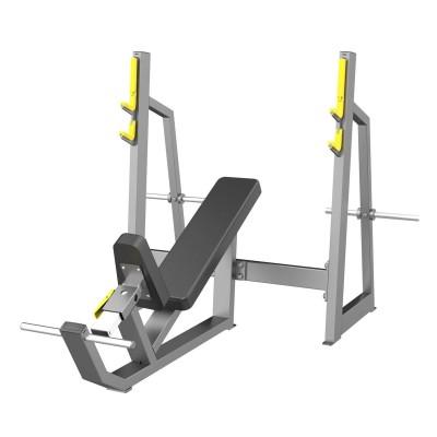 A-3042 Скамья-стойка для жима под углом вверх (Olympic Bench Incline)