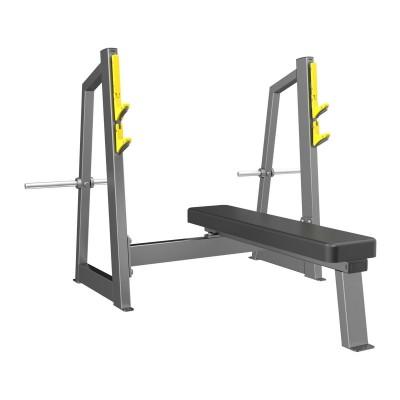 A-3043 Скамья-стойка для жима штанги лежа (Olympic Bench)