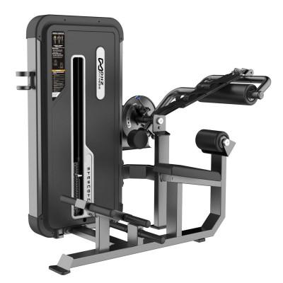A-3088 Пресс машина/Разгибание спины Abdominal Isolator & Back Extension.Стек 94 кг
