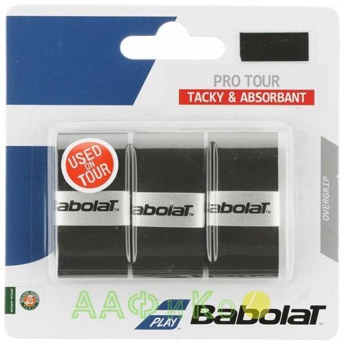 Намотка для теннисных ракеток Babolat PRO TOUR X3 (чёрный) 3 шт. 653037-105
