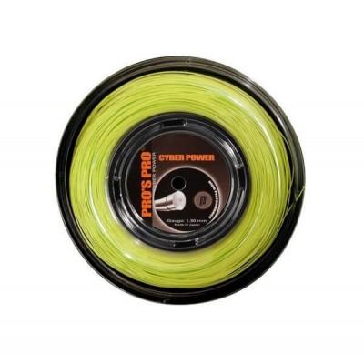 Струны теннисные Pros Pro Cyber Power lime 1.25 мм 12 м