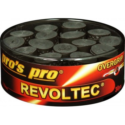 Намотка Pros Pro Revoltec Grip 30 шт/уп черные