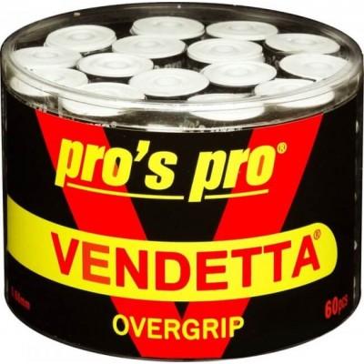 Намотка Pros pro Vendetta Grip 60шт/уп белые