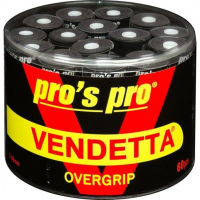 Намотка Pros pro Vendetta Grip 60 шт/уп черные