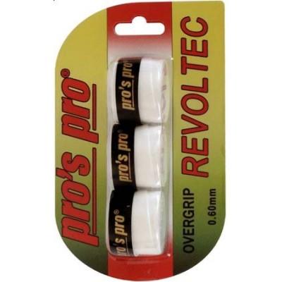 Намотка Pros Pro Revoltec Grip 3шт/уп  белые