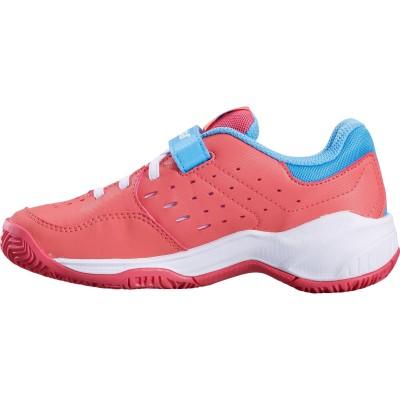 Кроссовки теннисные Babolat PULSION ALL COURT KID (розовый/небесно-голубой)