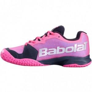 Кроссовки теннисные Babolat  JET ALL COURT JUNIOR GS DARK (розовый/чёрный)