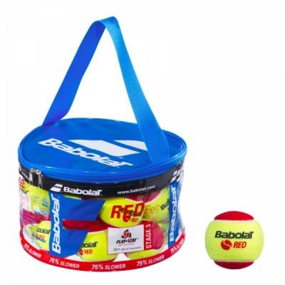 Мячи  теннисные Babolat RED FELT (24шт)