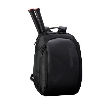 Рюкзак-сумка для теннисных ракеток Wilson FEDERER DNA BACKPACK BLACK NEW 2019
