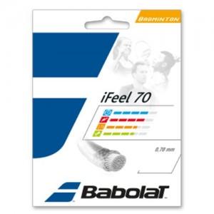 Струны для бадминтона BABOLAT IFEEL 0.70/10.2м (белый)