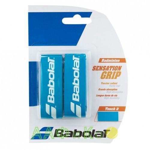 Намотка для бадминтонных ракеток Babolat GRIP SENSATION (синий)2 шт. (670064-136)