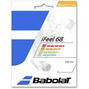Струны для бадминтона BABOLAT IFEEL 0.68/10.2м (красная)