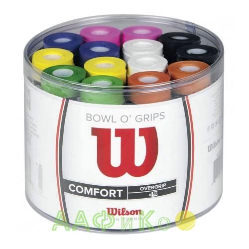 Намотка для теннисных ракеток Wilson BOWL OVERGRIP (50шт/уп) (WRZ404300)