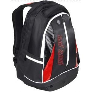 Рюкзак-сумка для теннисных ракеток Pros Pro Rucksack черно красный