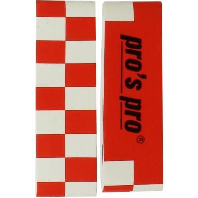 Защитная лента Pro s pro одиночная Kopfschutzband  черная/красная