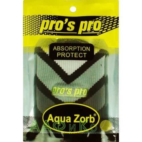 Напульсники для удаления пота Pros Pro черно/серый