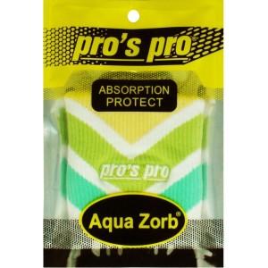 Напульсники для удаления пота Pros Pro зеленый/белый/желтый